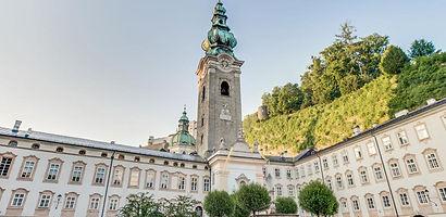Abbaye de saint pierre Salzbourg clocher