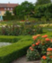 château rosenborg Copenhague jardin