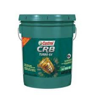 Aceite Castrol  15W40 CRB Plus Cubeta 19 litros