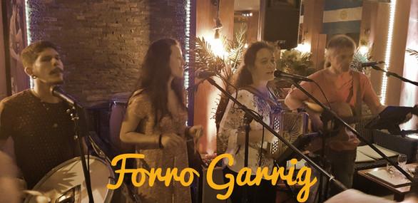 Lien vers les soirees musique live avec forro Garrig