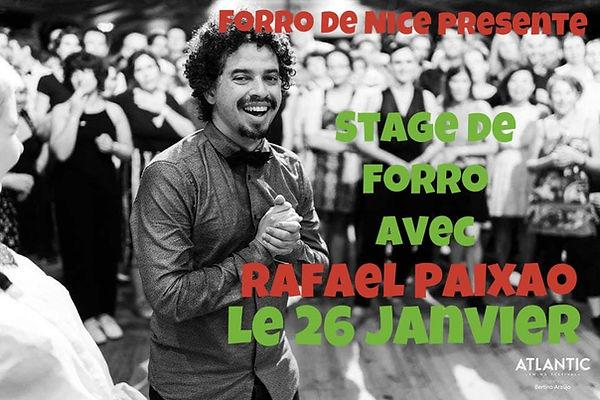 Présentation du stage avec Rafael Paixao
