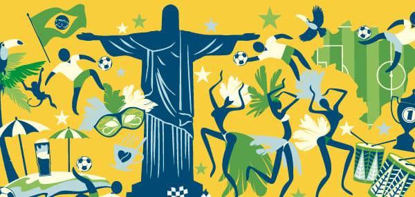 Danser à deux lors la soiree brésilienne avec Italo