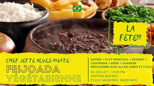 Lien vers les préparations culinaire de Jefte et sa Feijoada brésilienne