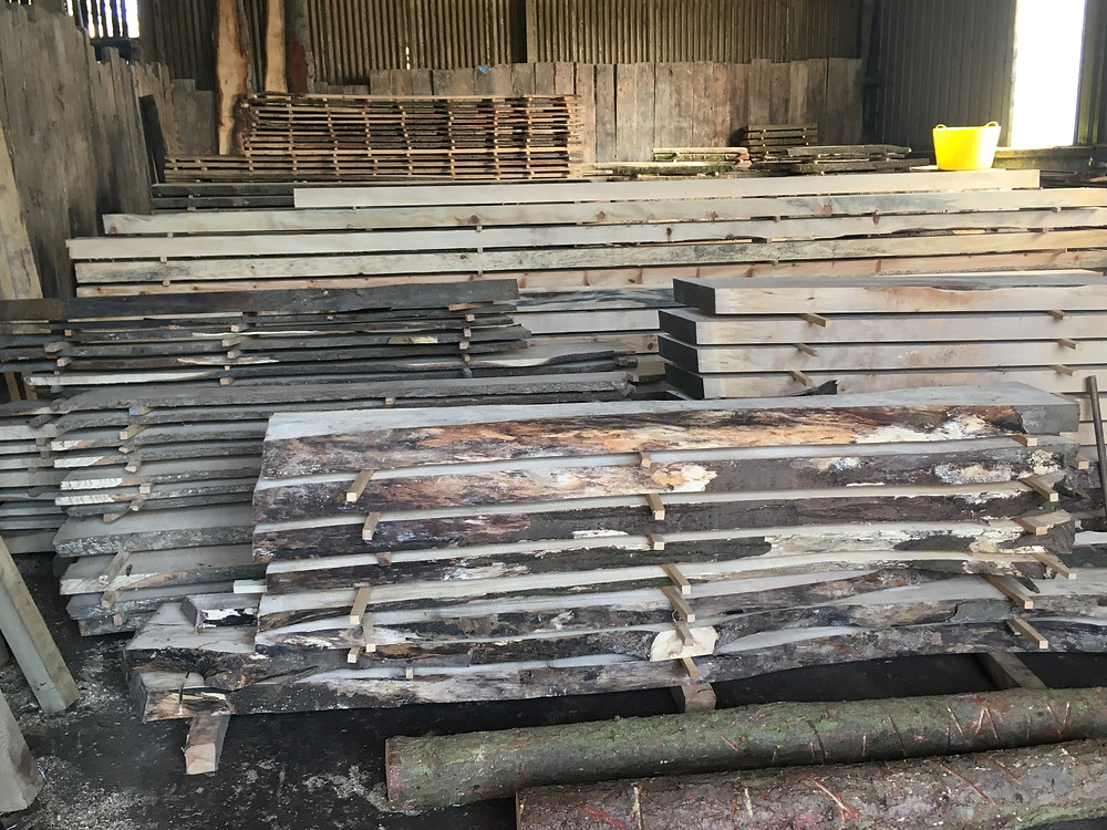 A lot of wood!