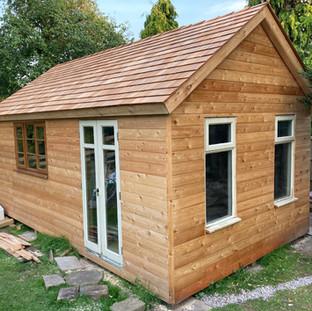 Garden building/studio