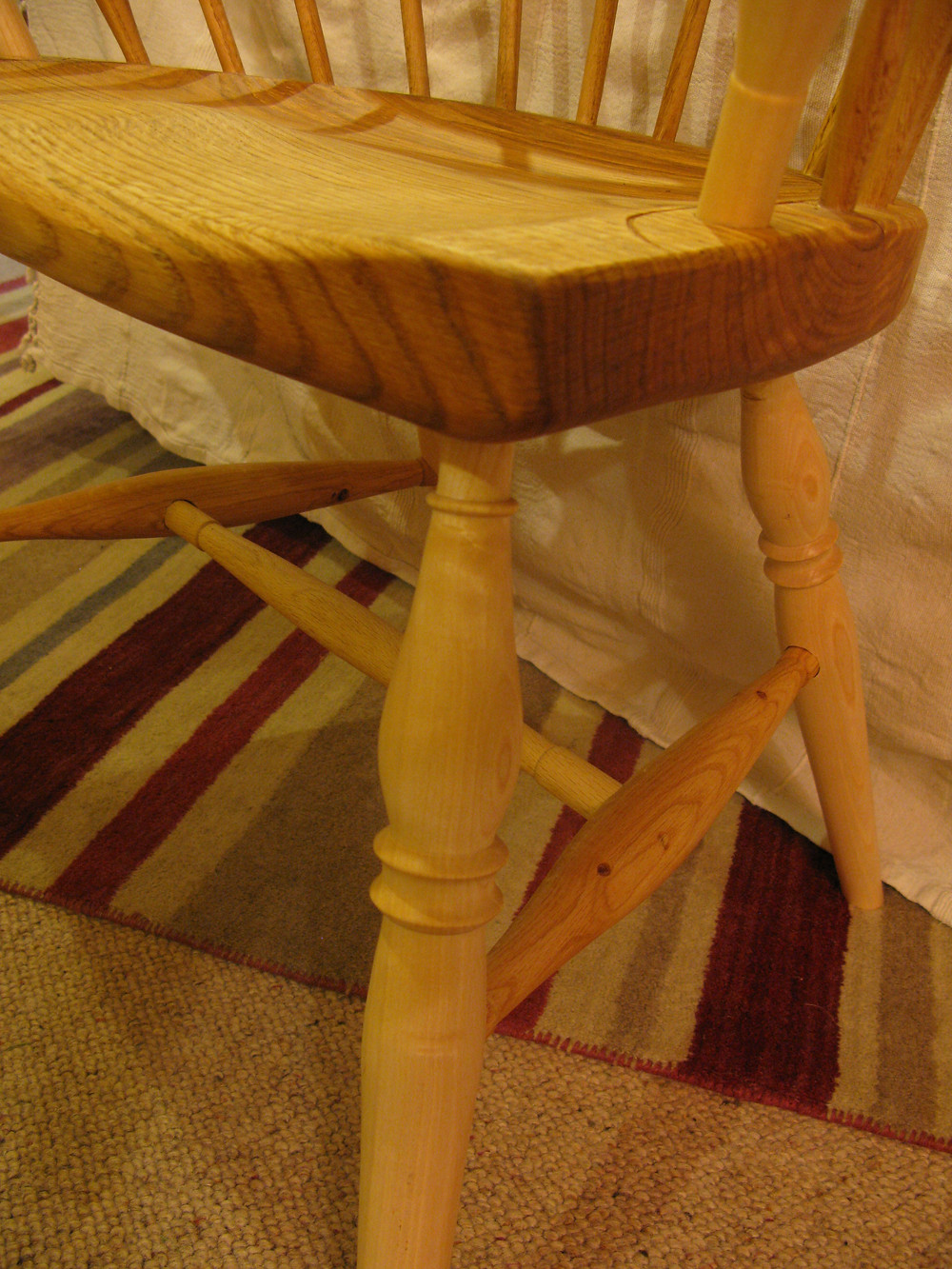 Captains chair joinery detail