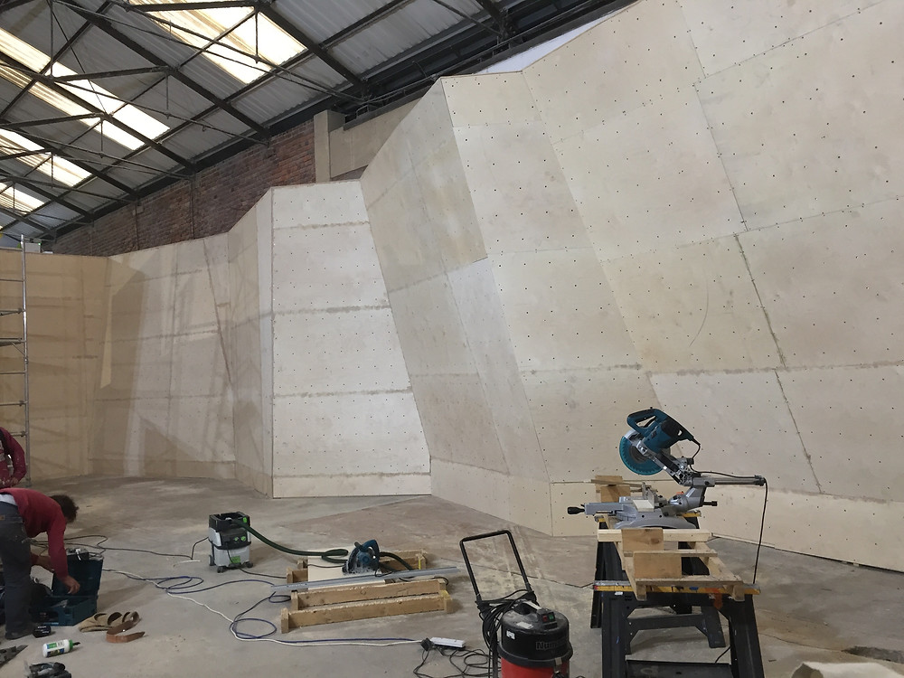 New bouldering wall for The Foundry in Sheffield