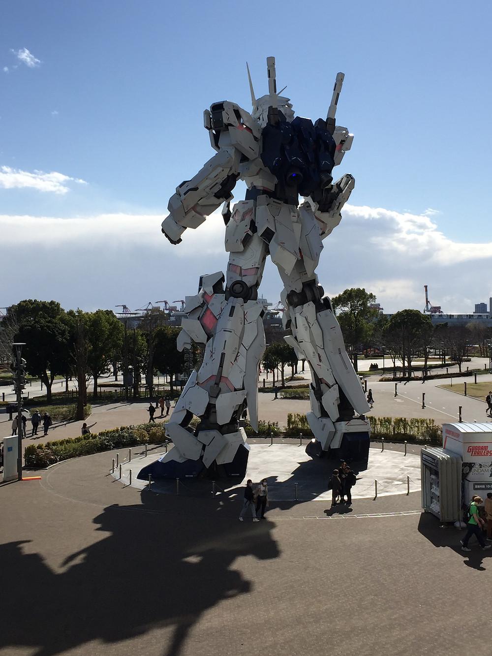 Massive robot statue!