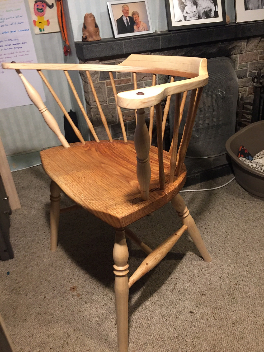 Captains Chair, in Oak, Ash, Sweet Chestnut and Red Oak,