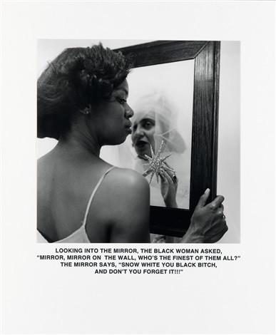 'Mirror Mirror', Carrie Mae Weems, 1987