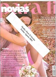 Revista Para Tí, August 2003 Issue