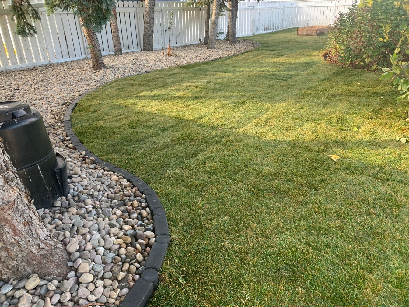 Beds, Edging and Sod