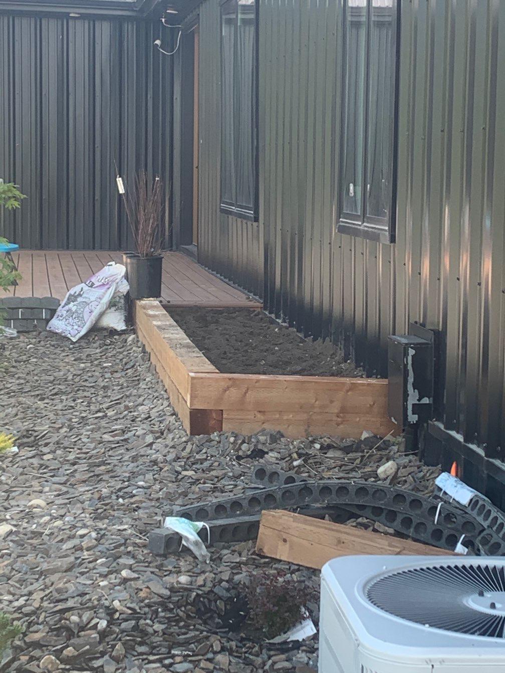 Planter Box & Trex Decking