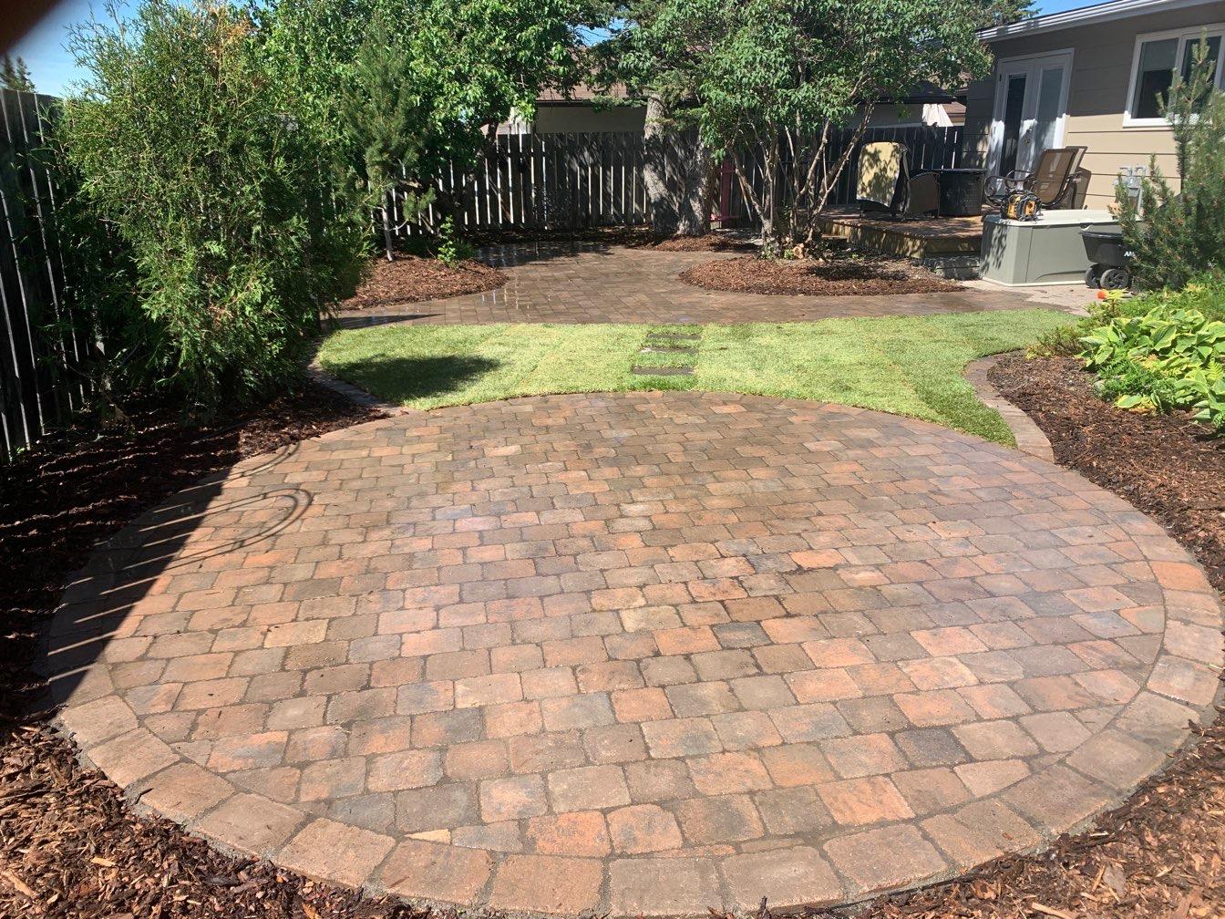 Complete Landscaped Yard