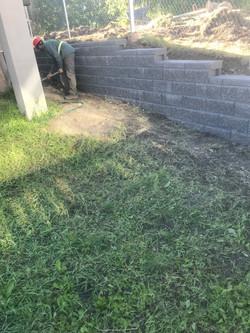 Allan Block Retaining Wall