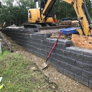 Allan Block Retaining Walls