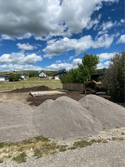 Gravel & Topsoil Delivery and Grading