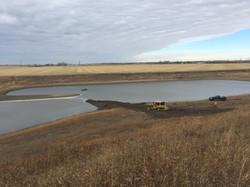 Storm Pond Excavation: Creation of 2 Bays