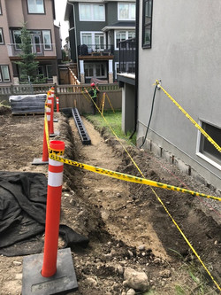Allan Block Retaining Wall, Safety First.