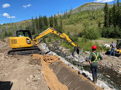 Streambank Stabilization and Bioengineering with Isolation in Place
