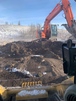 Site Reclamation, Topsoil Bulking & Placement
