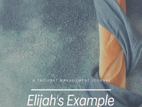 Elijah's Example with Journal