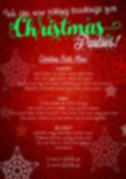 taking xmas party bookings WITH MENU jpg