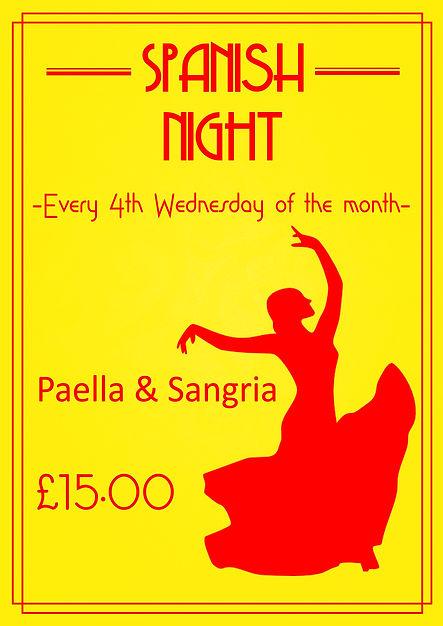 spanish night poster to slide, website,