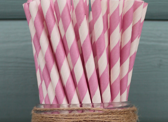 Candy Pink Stripes