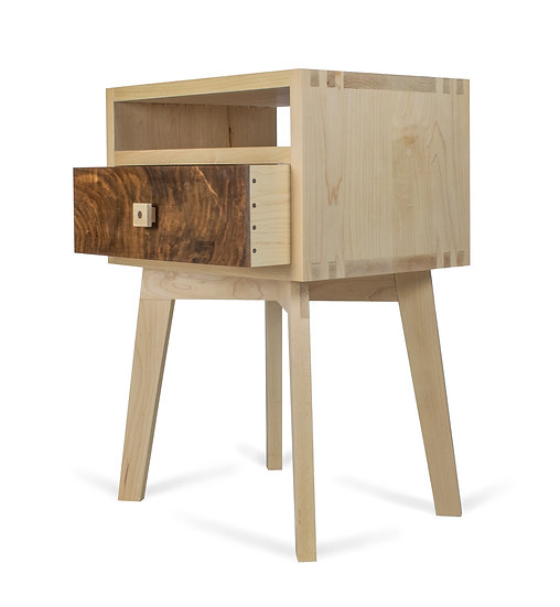 Mid-Century Inspired Bedside Table