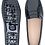 Thumbnail: FS0 400 P PATENT LEATHER MIDNIGHT NAVY LADY MOCASSIN