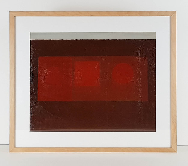 Serene Red - Beech Frame with Wenge Splines