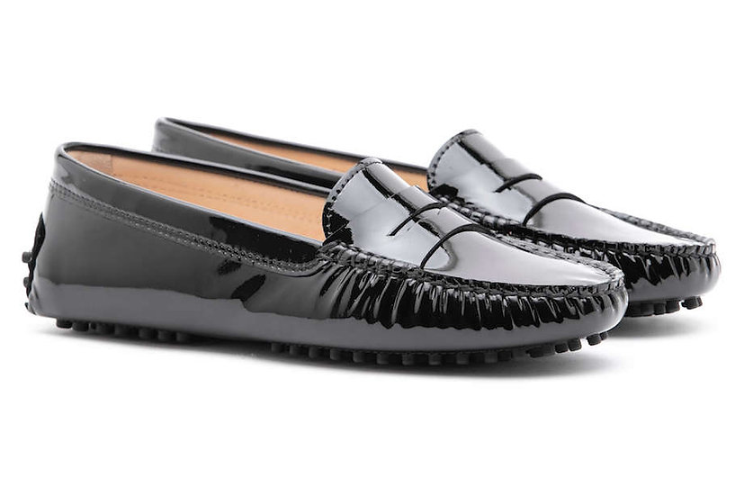 FS0 400 P Patent Leather BLACK LADY MOCASSIN
