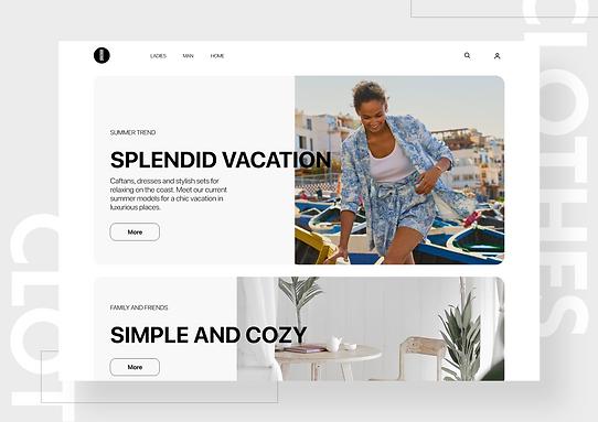 Clothes - online boutique
