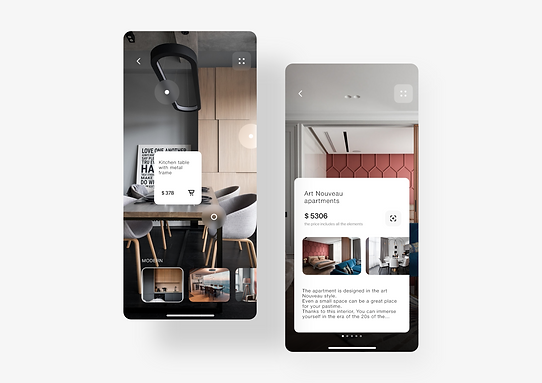 AR viewing app