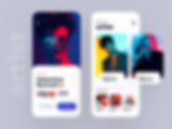Artist listing app design