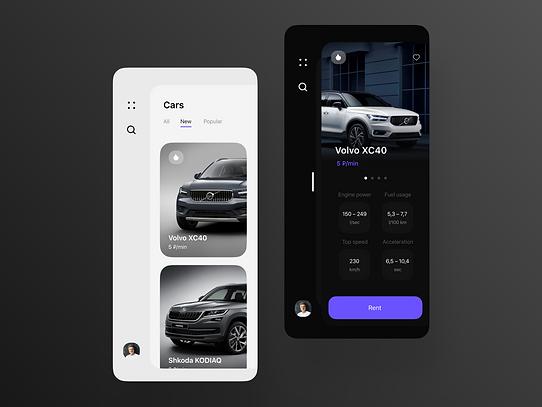 Carsharing app