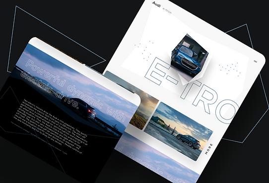 Audi e-tron - web