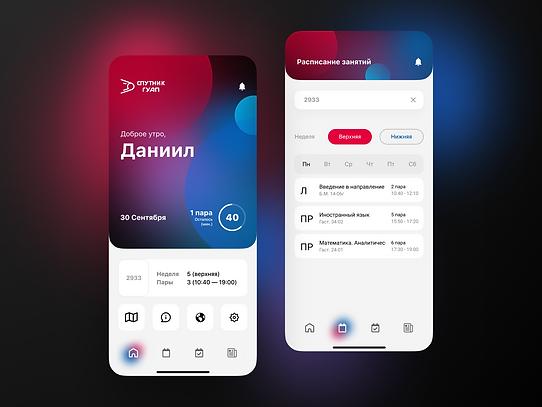 SUAI mobile app