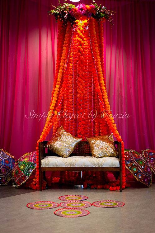 Autumn Wedding Throne