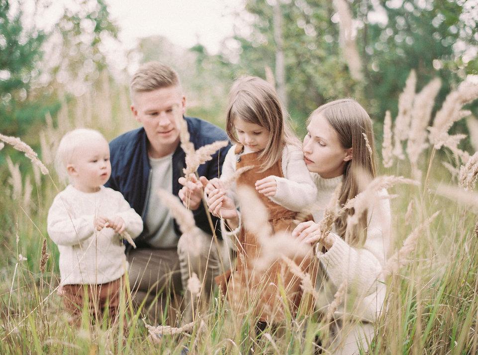 Perhe Savoir, Lifestyle Family Shoot, Pe