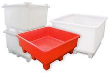 caixas paletizadas em polietileno ROTOTHERM