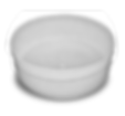 bandeja cilindrica empilhavel polietilen