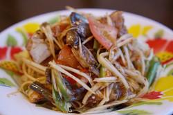 Somtum Poo with Shrimp Paste