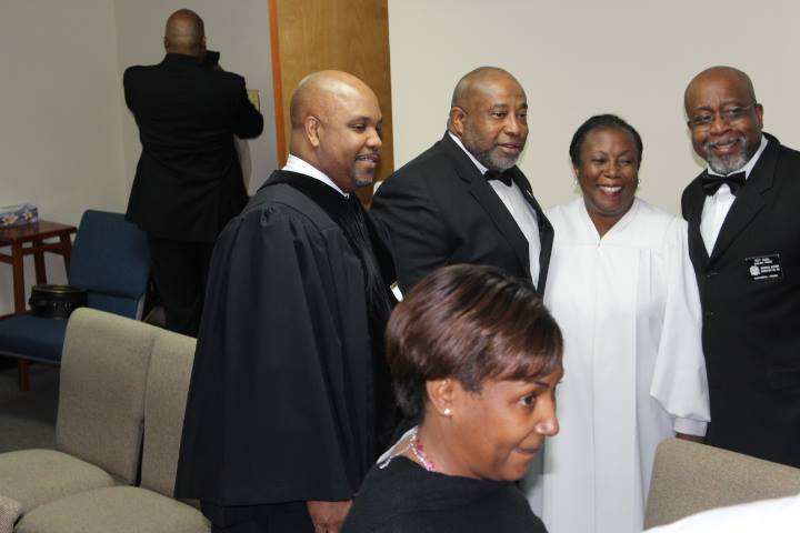 Pastor & Members of
