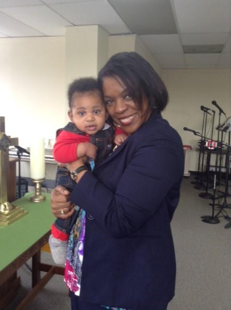 Sis. Valerie Noel & Baby Emmanuel