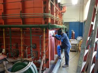 on site welding repair