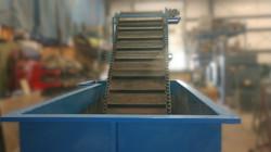 oil quench & conveyor