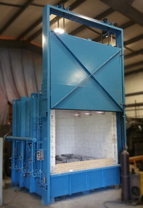 gas fired box furnace