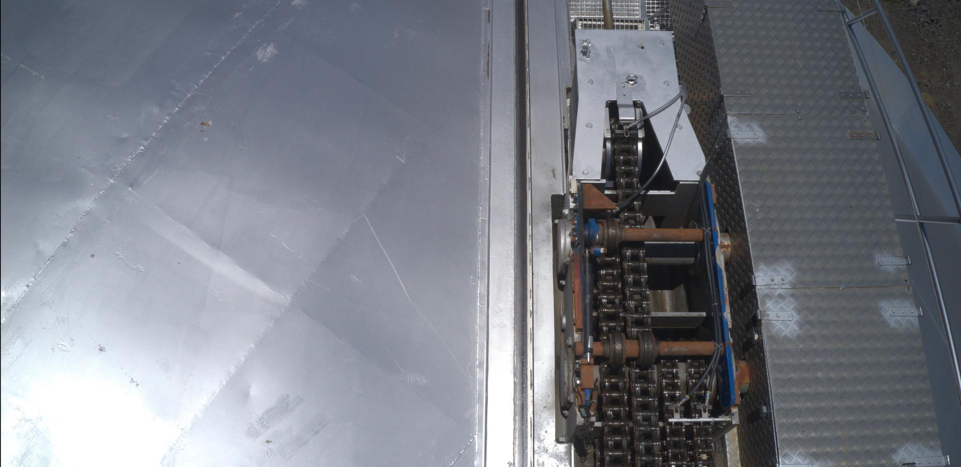Gran Telescopio Canarias. Detalle cierre